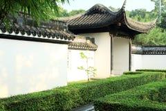 中国庭院,中国建筑学 图库摄影