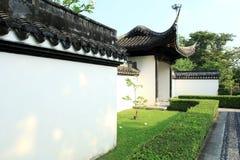 中国庭院,中国建筑学 免版税库存照片