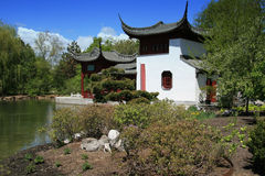 中国庭院 库存图片