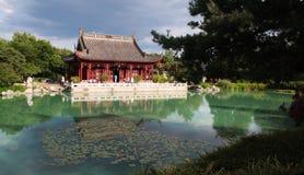 中国庭院 免版税库存照片