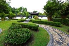 中国庭院 图库摄影