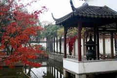 中国庭院 免版税库存图片