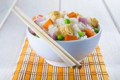 中国式三欢欣米 免版税图库摄影