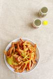 中国食物寒冷开胃菜 库存图片