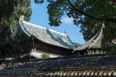 中国式屋顶 库存照片