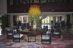 中国式旅馆大厅 库存图片