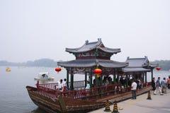中国式游轮 免版税库存照片