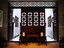 中国式的客厅 免版税库存图片