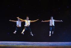 中国式芭蕾舞蹈 库存图片