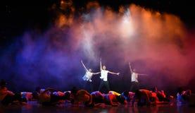 中国式芭蕾舞蹈 免版税库存图片