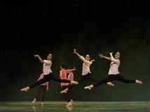 中国式芭蕾舞蹈 库存照片