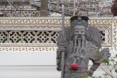 中国式雕塑 库存图片