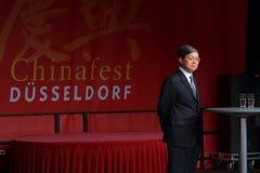 中国总领事wen zhenshun 库存照片