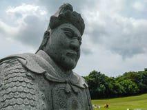 中国战士 免版税库存图片