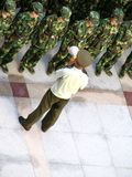 中国战士 库存照片