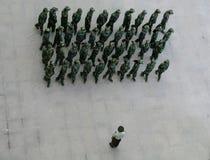 中国战士 图库摄影