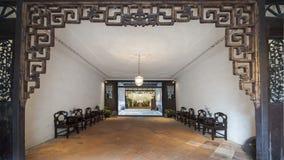 中国房子内部 图库摄影