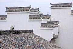 中国房檐 库存图片