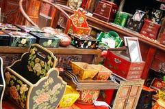 中国收集家具 免版税图库摄影
