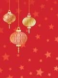 中国新年度 库存例证