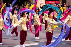 中国新的游行年 图库摄影