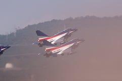 中国新的intercepter战斗机- J-10 库存图片