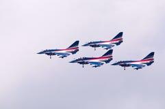 中国新的intercepter战斗机- J-10 免版税库存照片