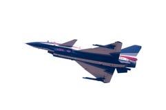 中国新的intercepter战斗机- J-10 图库摄影