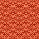 中国无缝的样式,东方背景 也corel凹道例证向量 皇族释放例证