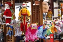 中国木偶 免版税库存图片