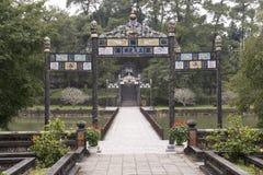 中国木拱道 颜色,越南 库存图片