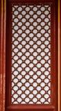 中国木窗口 免版税库存图片