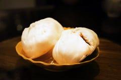 中国材料小圆面包 库存照片