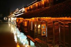 中国村庄水 库存图片