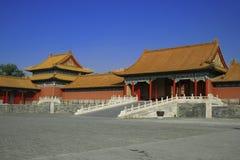 中国村庄 库存照片