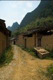 中国村庄 库存图片