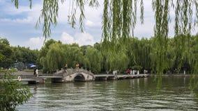 中国杭州西湖风景区 免版税图库摄影