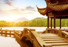 中国杭州西湖风景 库存图片