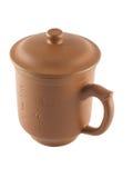 中国杯子盒盖茶 库存照片