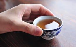 中国杯子茶 免版税库存图片