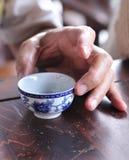 中国杯子茶 库存图片