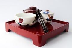中国板材和筷子 库存图片