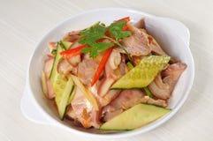 中国样式开胃菜 免版税库存照片