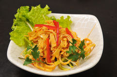中国样式开胃菜 图库摄影