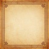 中国框架老帆布纹理 库存图片