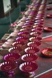 中国桌装饰 免版税库存图片