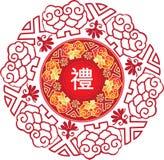 中国模式 库存照片