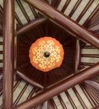 中国橙色lampion 图库摄影