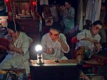中国歌剧执行者 免版税库存图片