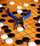 中国比赛是 免版税库存照片